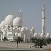 Мечеть шейха Зайеда в Абу-Даби, ОАЭ