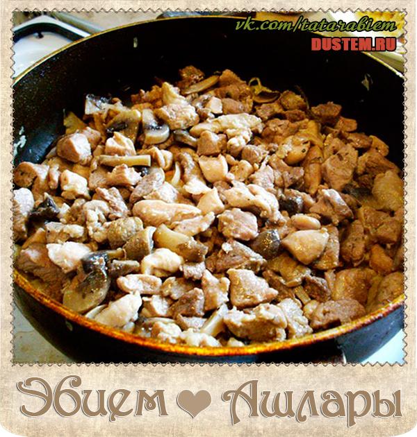 Блюда из кролика в сметане с грибами рецепты